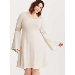 Torrid Bell Sleeve Sweater Dress